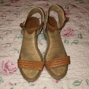 Lucky Brand espadrilles nude/natural wedges